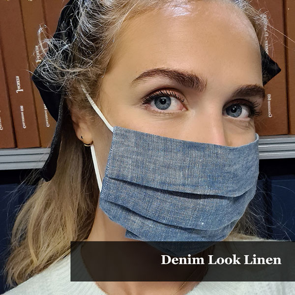 Denim Look Linen